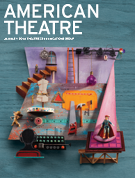 American Theatre January 2014 Cover