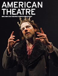 American Theatre May 2013 Cover