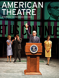 American Theatre October 2013 Cover