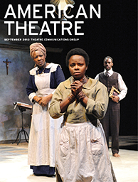 American Theatre September 2013 Cover