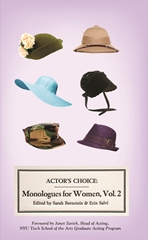 Actor's Choice' Monologues for Women vol 2