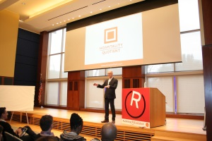 David Steffen speaking on 'Creating a Culture of Hospitality' at the 2013 Audience (R)Evolution Convening in Philadelphia